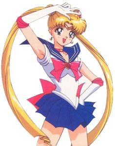 Serena, a protagonista de Sailor Moon